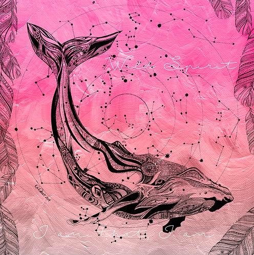 Wild Spirit - Whale Pink (heart)