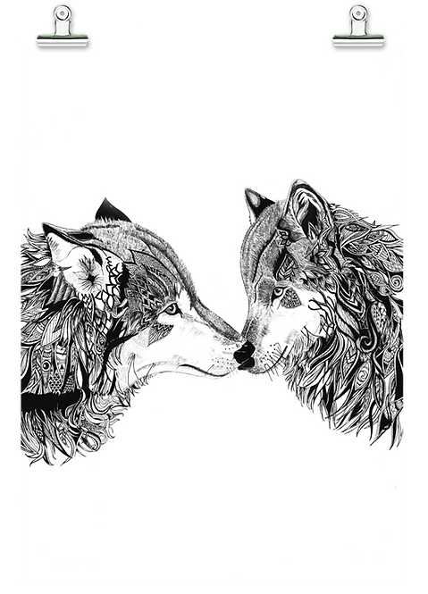True Love - Tribal Wolves