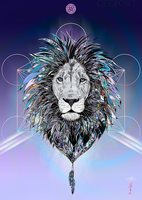 Brave Spirit Cosmic Lion