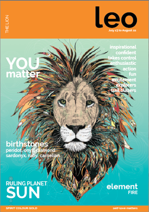 Leo - Positive Magazine Style Poster