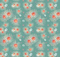 Native Flower Pattern Design