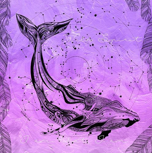 Wild Spirit Whale Purple (crown)