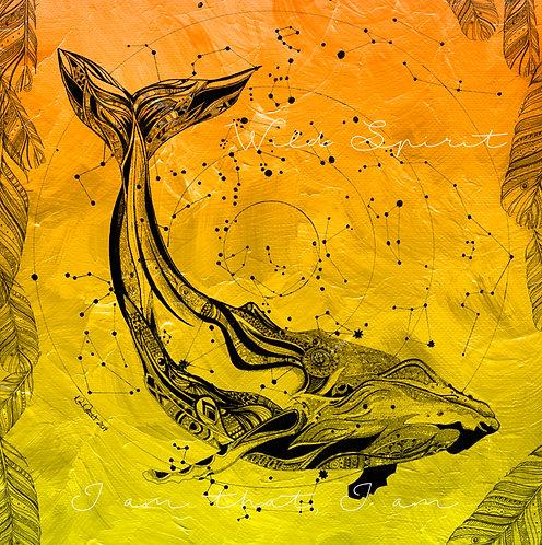 Wild Spirit - Yellow Whale (sacral)