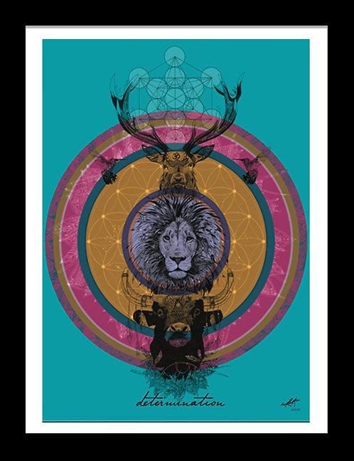 Determination - Totem Mandala