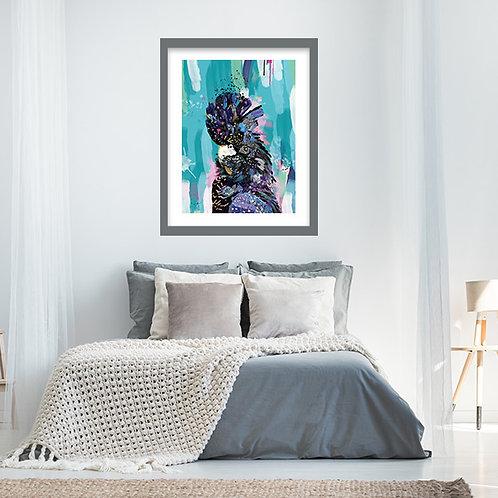 Best Selling Black Cockatoo Print