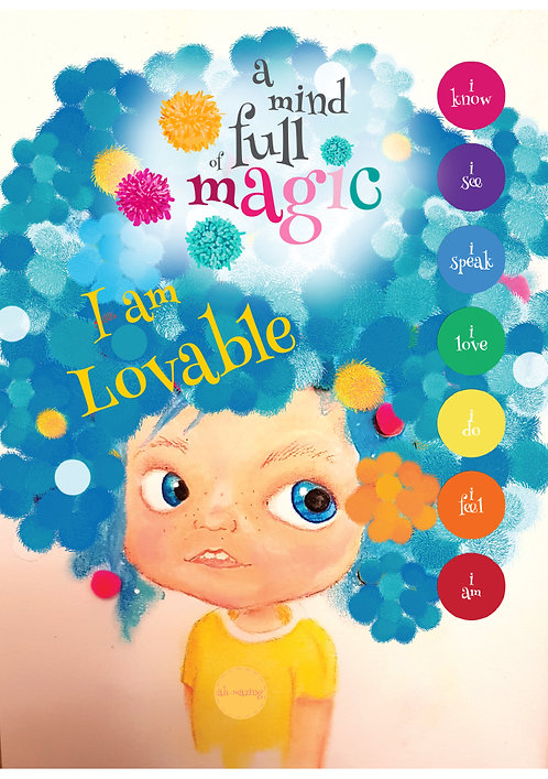 A Mind Full of Magic - I am Lovable Poster