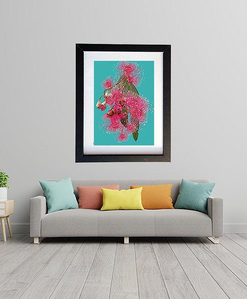 Pink Eucalyptus Flower