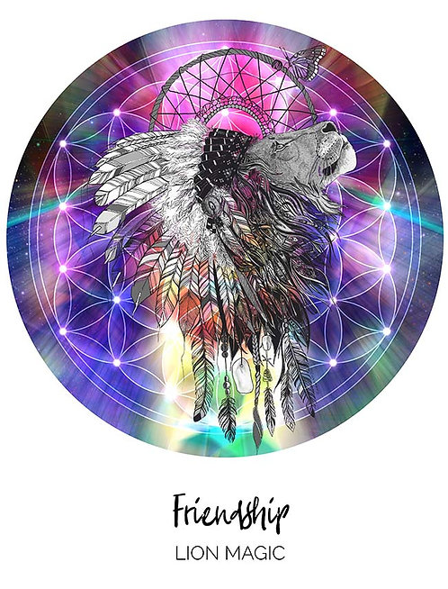 Friendship - Lion Magic