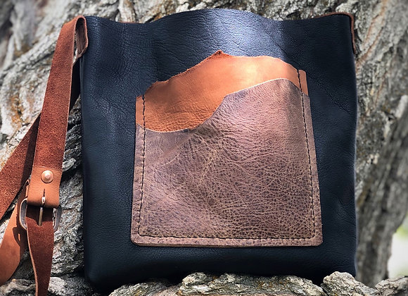 Woodland Midnight Cross Body Bag