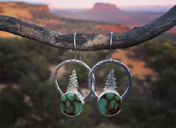 Pangaea Pine Earrings