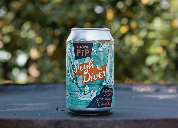 High Diver Refreshingly Crisp Sparkling Cider