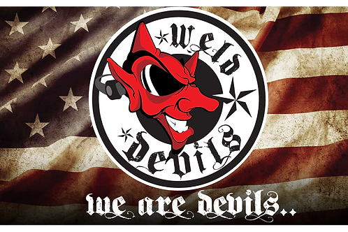 Weld Devils Americana Banner