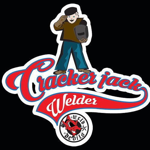 Cracker jack Welder Decal