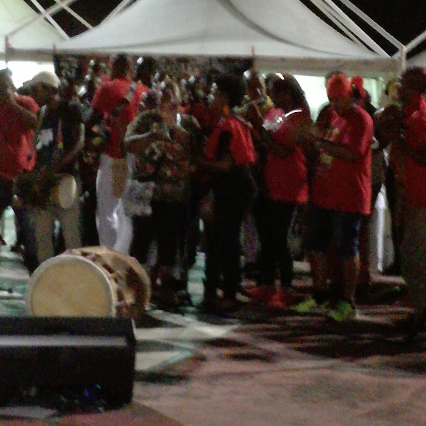 Place de la victoire - Concert de Gwoka