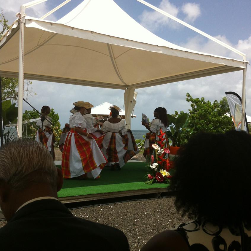 Groupe de danse traditionnelle - biguine et cadri