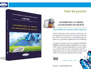 """A lire absolument : """"Contribution au projet guadeloupéen de société"""" - CASAD"""