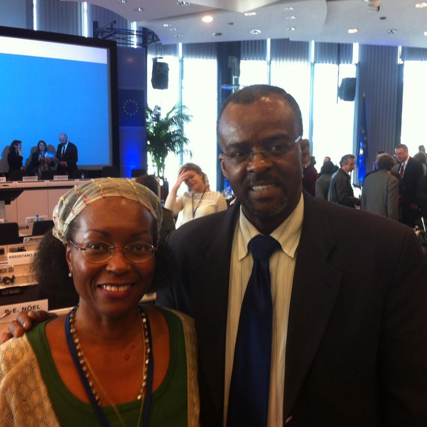 Patricia_POMPILIUS_et_Ary_CHALUS,_Président_de_la_Région_Guadeloupe,_Député_sortant