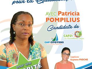 La campagne législative est lancée : présentation du programme de Patricia POMPILIUS
