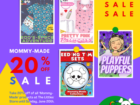 """""""Mommy-Made"""" Sale at The Littles' Store!"""