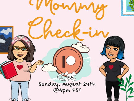 Mommy Check-in Meetup this Sunday!
