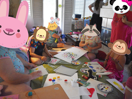 The Littles' Play Party