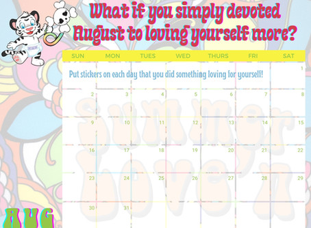 Devote August to Loving Yourself