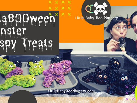 HaBOOween Monster Krispy Treats