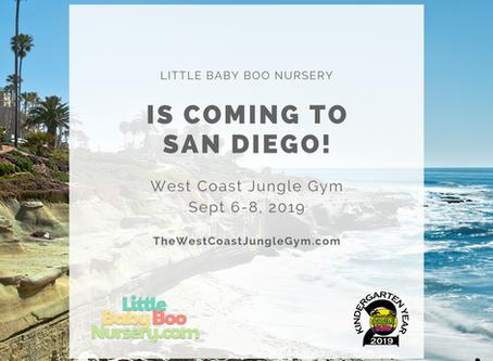 Little Baby Boo Nursery is Heading to West Coast Jungle Gym 2019!