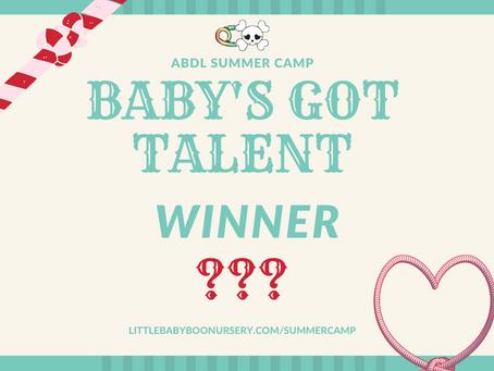 Baby's Got Talent WINNER!