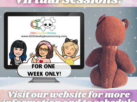 Virtual Sessions are Back!