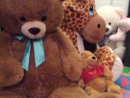 Big Stuffies & Cupcakes!