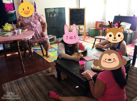 Photos from the Littles' Pizza Play Party!