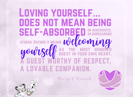 Loving Yourself ≠ Narcissism!