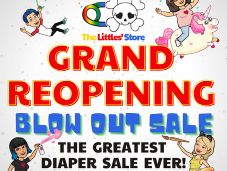 Grand Re-Opening?