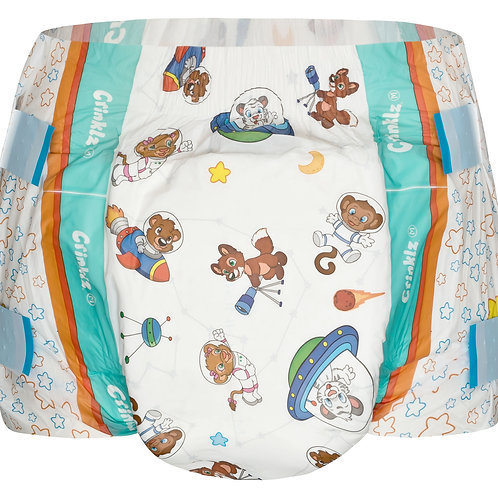 Crinklz Diapers Astronaut