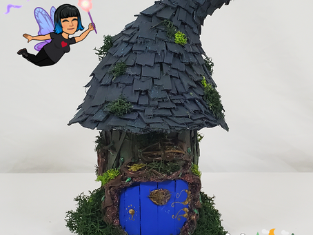 Mommy Black's  Fairy House