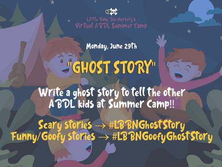 ABDL Summer Camp: 👻 Ghost Story ✏️