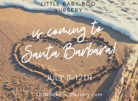 We're Coming to Santa Barbara!!