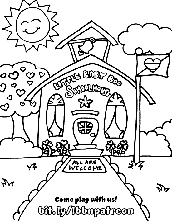 LBBN School House Coloring Page.png