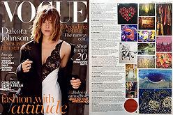 Isabelle Beaubien in Vogue Magazine