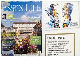Isabelle Beaubien in Essex Life magazine