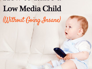 How to Raise a Low Media Child