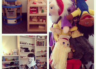 A little look into the play therapy room at TRU Integrative Health and Wellness