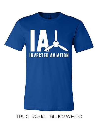 Inverted Aviation Logo Mens T-Shirt