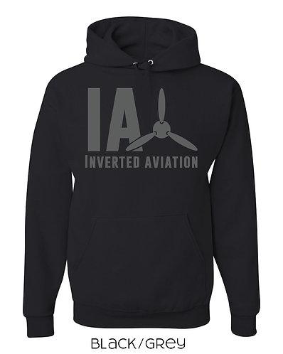 Inverted Aviation Logo Mens Hoodie