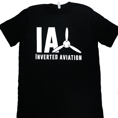 Inverted Aviation Logo Men's T Shirt
