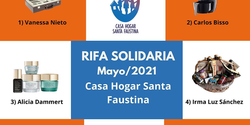 Rifa Solidaria Mayo 2021 Resultados