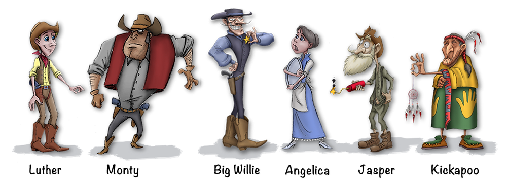 Character lineup | SPIRITS OF THE WESTERN WILD