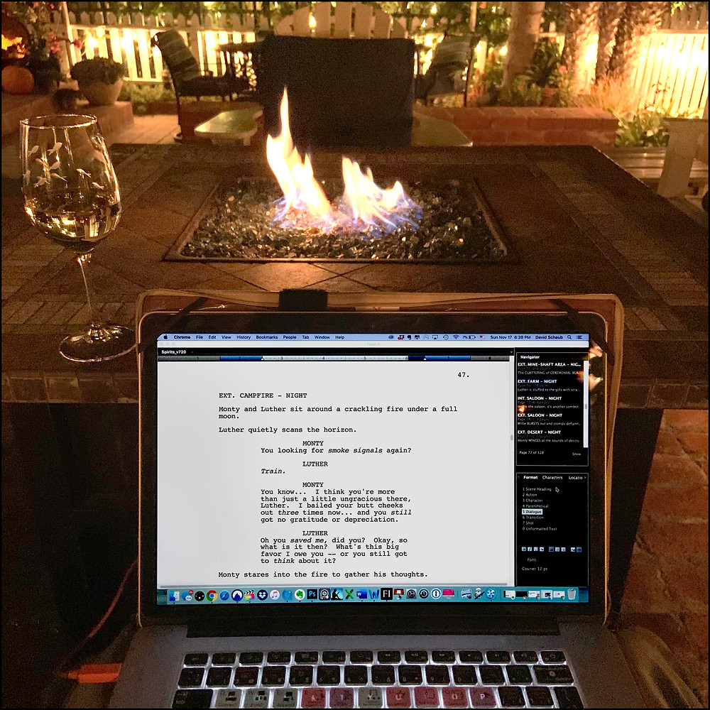 Writing Process for screenplay  | SPIRITS OF THE WESTERN WILD