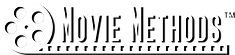 Movie Methods LLC logo - white on black